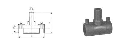 trójnik elektrooporowy redukcyjny